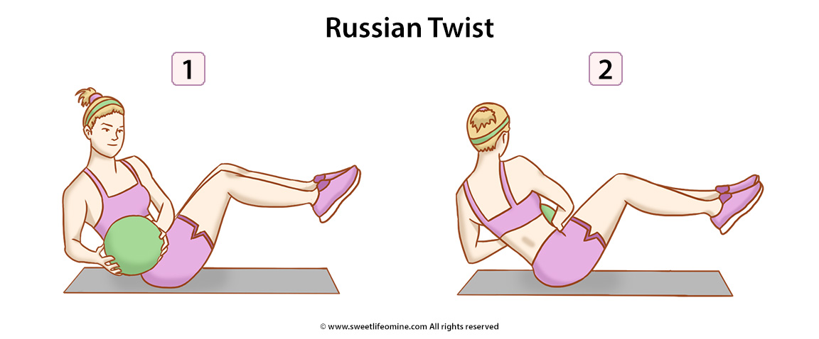 Russian Twist Exercise