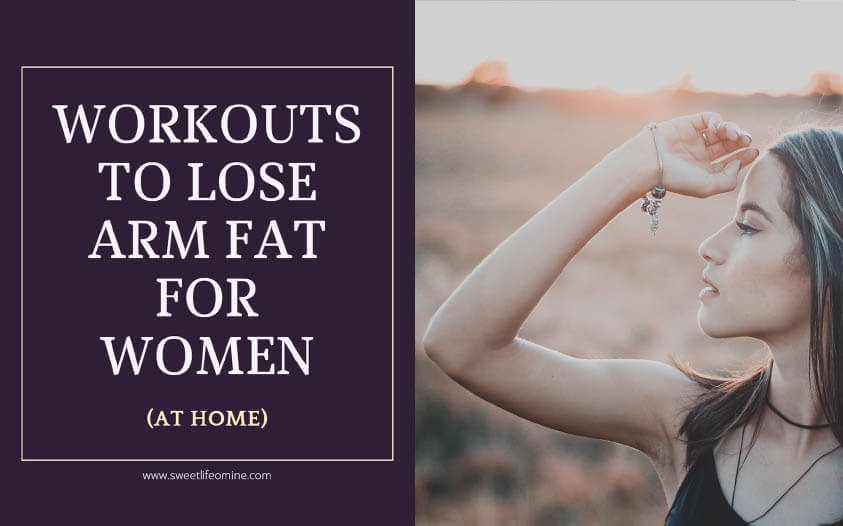 Workouts to Lose Arm Fat for Women (at home)