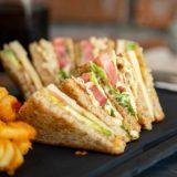 Sweet Potato and Coconut Scrapes Sandwiches