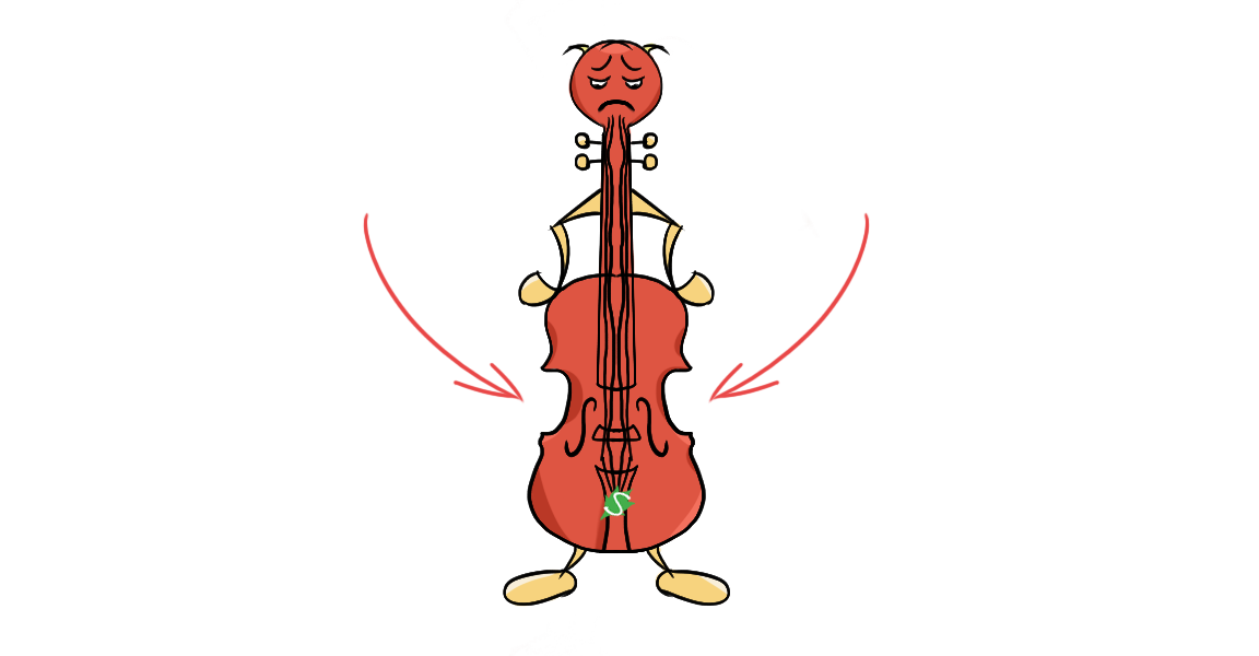 Violin hips
